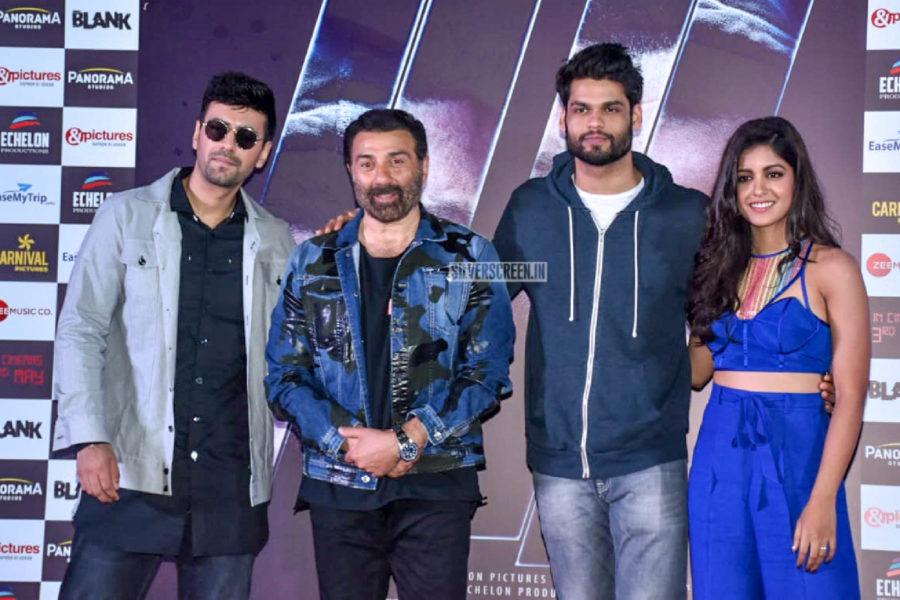 Sunny Deol, Ishita Dutta At The 'Blank' Trailer Launch