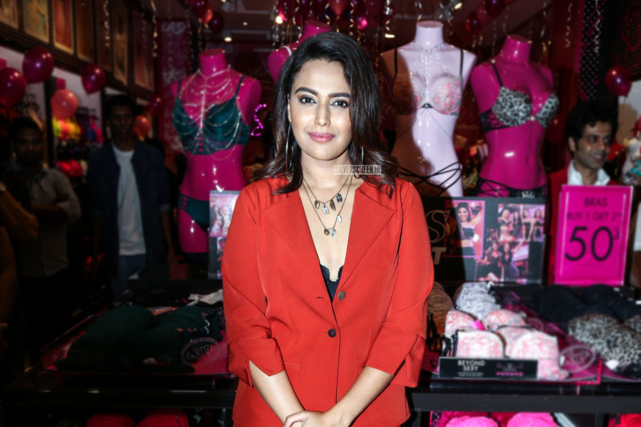 Swara Bhaskar At The Launch Of A Fashion Label's Latest Collection