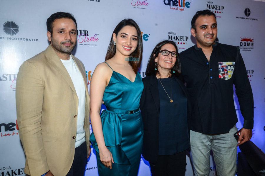 Tamannaah Bhatia At 'India  Make Up Show' Event