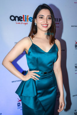 Tamannaah Bhatia At 'India  Make Up Show' Event