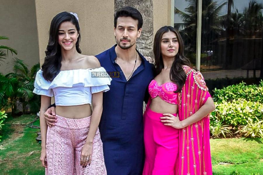 Tiger Shroff, Tara Sutaria, Ananya Panday At The 'Mumbai Dilli Di Kudiya' Song Launch From Student Of The Year 2