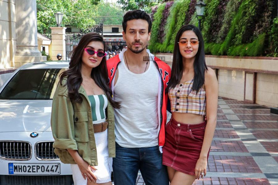 Tiger Shroff, Ananya Panday, Tara Sutaria Promote 'Student Of The Year 2'