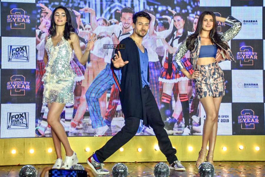 Tiger Shroff, Tara Sutaria, Ananya Pandey At 'The Jawaani Song' Launch From Student Of The Year 2