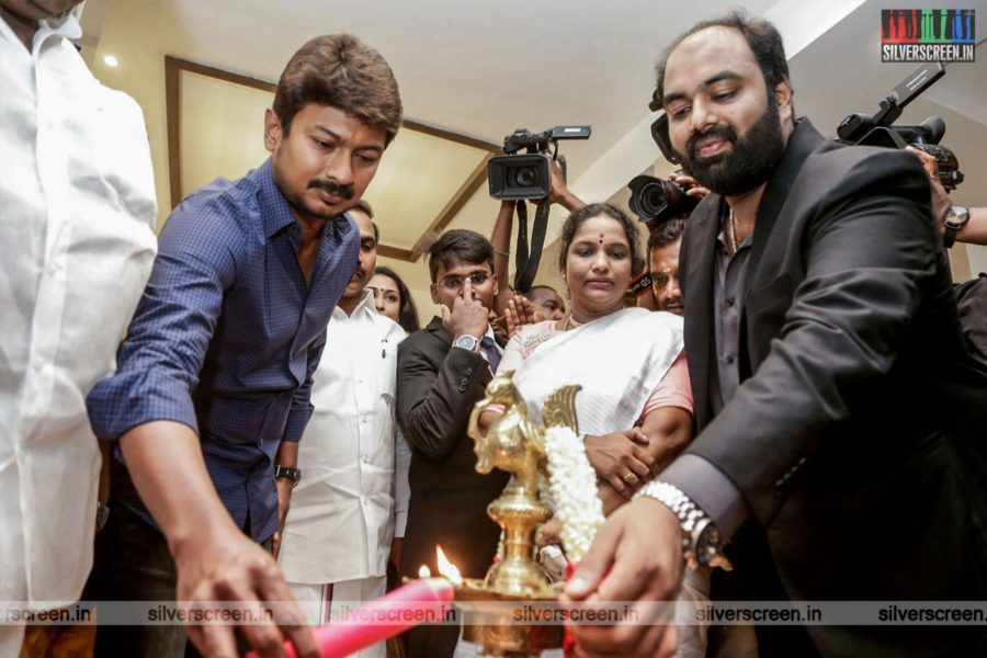 Udhayanidhi Stalin At The Inauguration Of A Hotel In Chennai