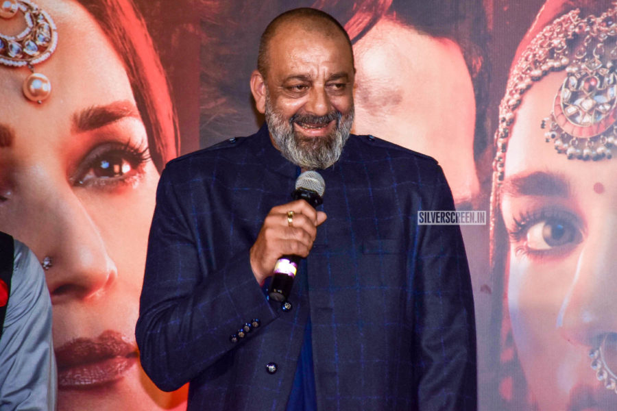 Sanjay Dutt At The 'Kalank' Trailer Launch
