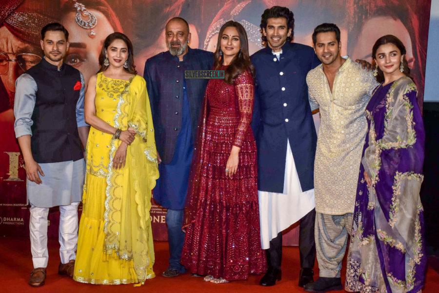 Varun Dhawan, Alia Bhatt, Sonakshi Sinha, Madhuri Dixit At The 'Kalank' Trailer Launch