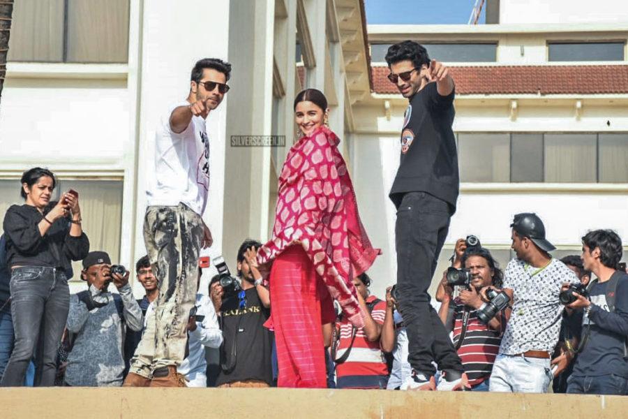 Varun Dhawan, Aditya Roy Kapur, Alia Bhatt Promote 'Kalank'