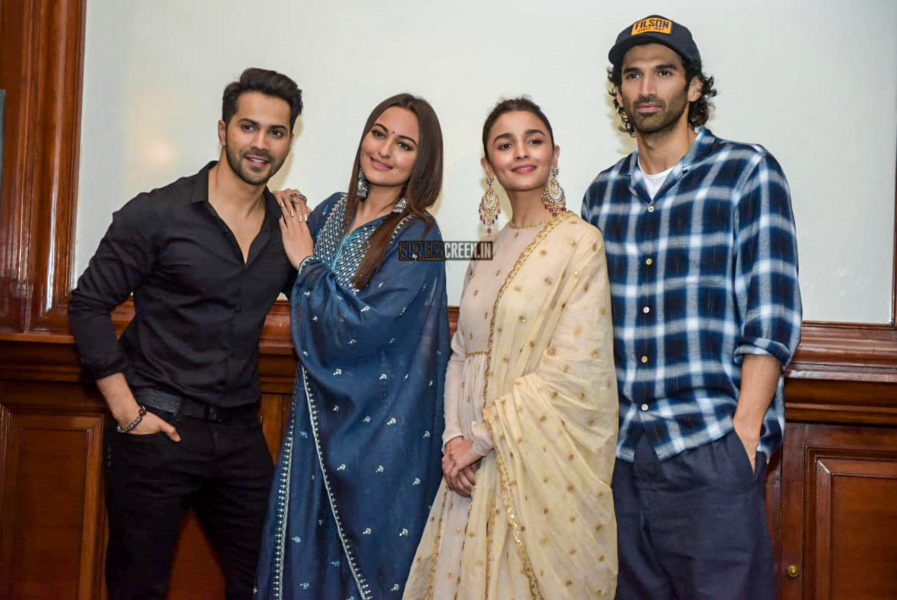 Varun Dhawan, Sonakshi Sinha, Alia Bhatt Promote 'Kalank' In Delhi