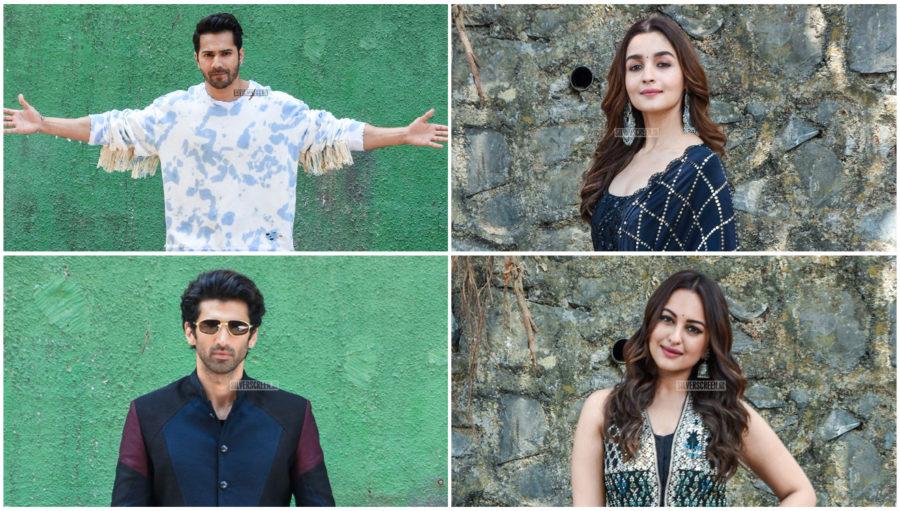 Varun Dhawan, Sonakshi Sinha, Alia Bhatt Promote 'Kalank'