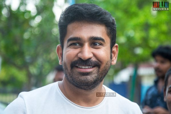 Vijay Antony At The 'Kolaigaran' Press Meet