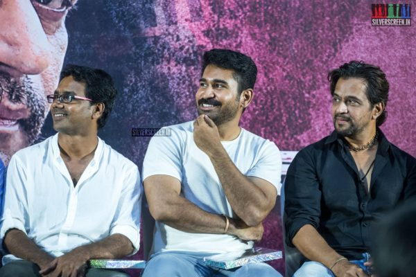 Arjun, Vijay Antony At The 'Kolaigaran' Press Meet