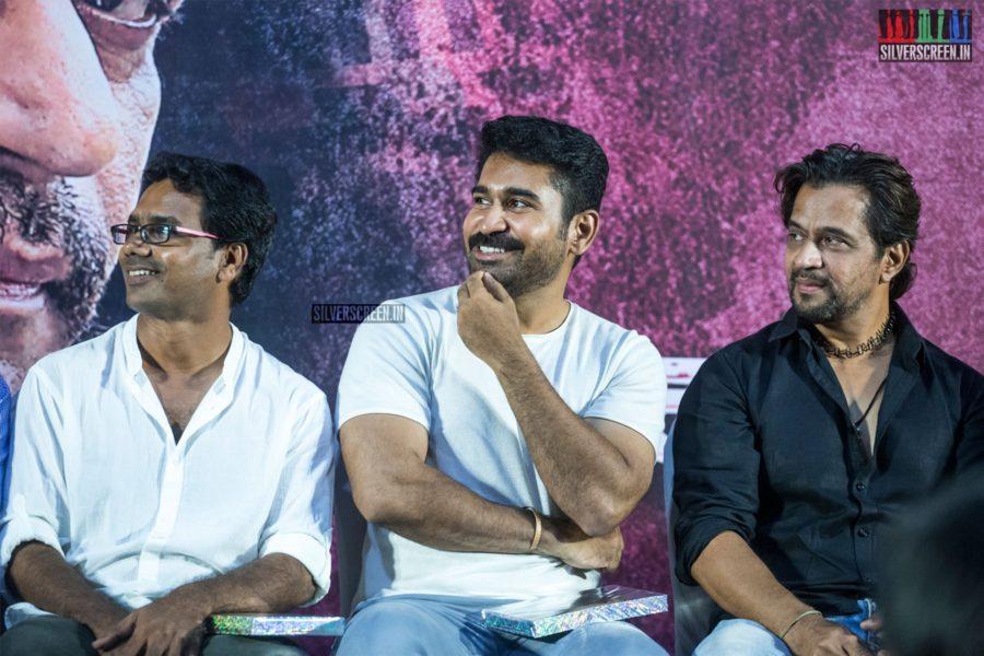Arjun, Vijay Antony At The 'Kolaigaran' Press Meet