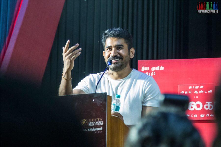 Vijay Antony At The 'Kolaigaran' Press Meet