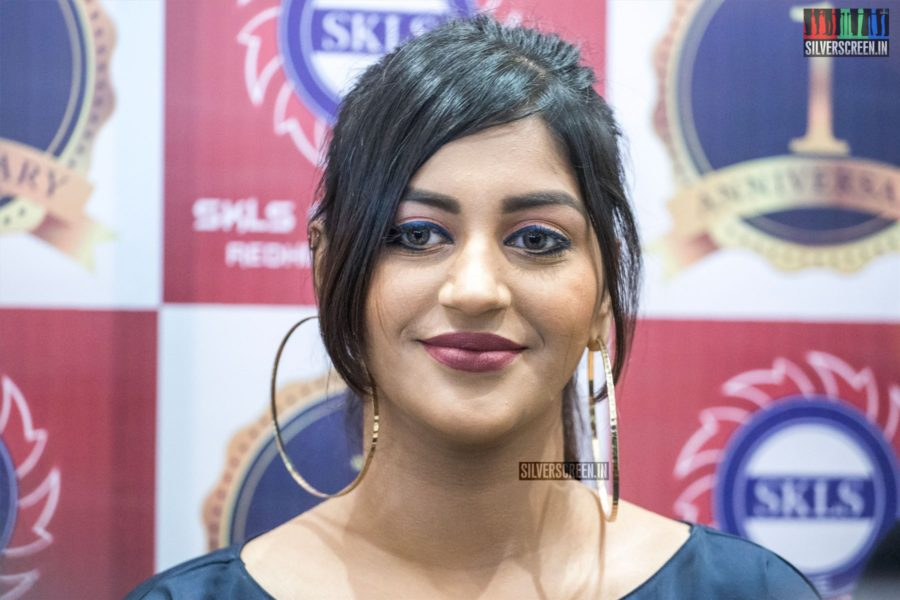 Yaashika Aanand At The First Year Anniversary Celebrations Of A Mall In Chennai