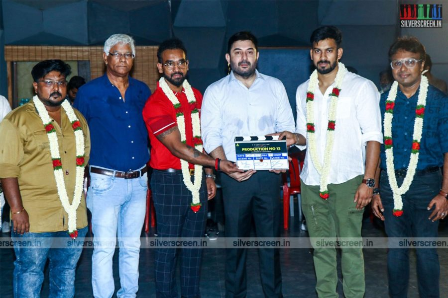 Aravind Swami At Etcetera Entertainment-Production No 12 Movie Launch