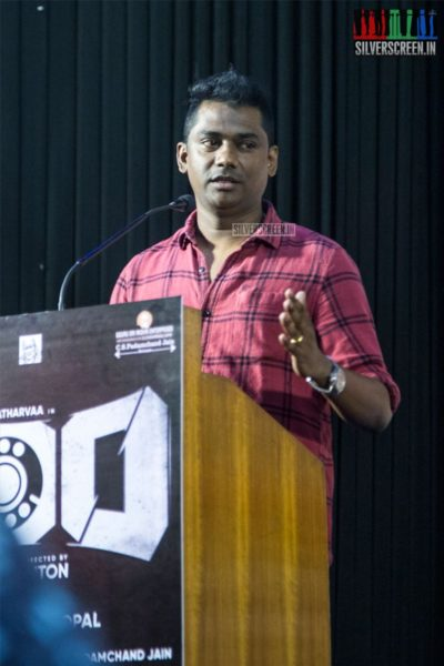 CS Sam At The '100' Press Meet