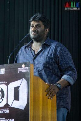 Sam Anton At The '100' Press Meet