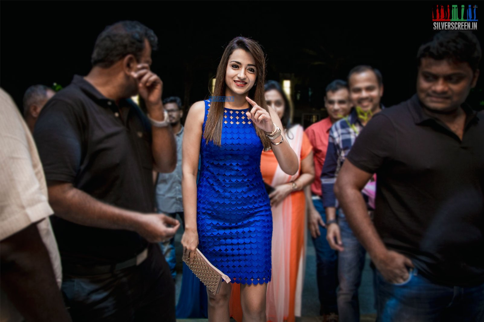 Trisha at the Launch of CHAO – Pan Asian Restaurant
