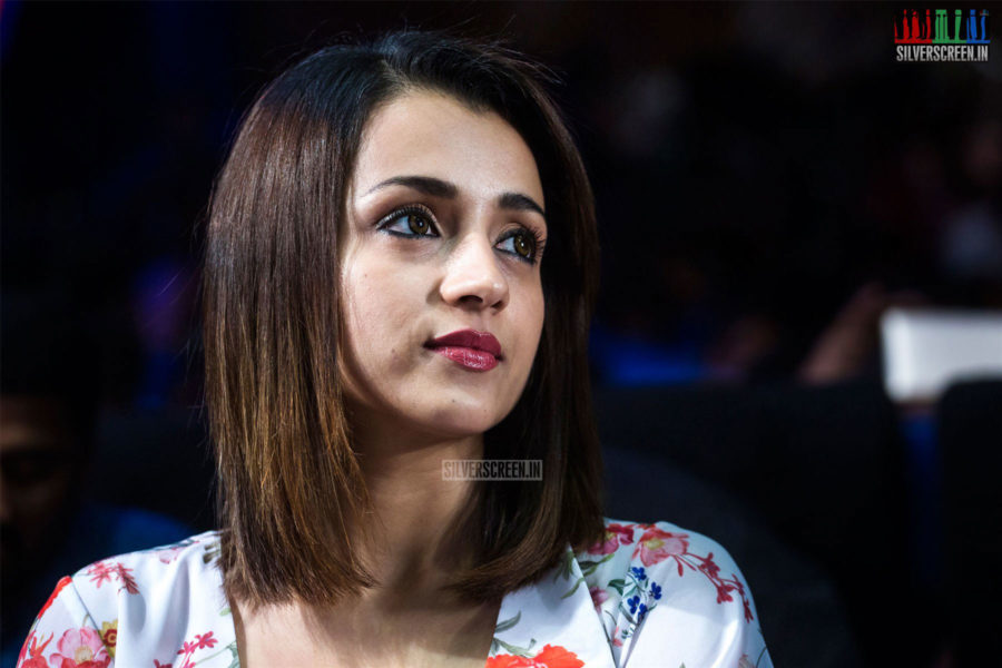 Trisha AT The 96 Press Meet