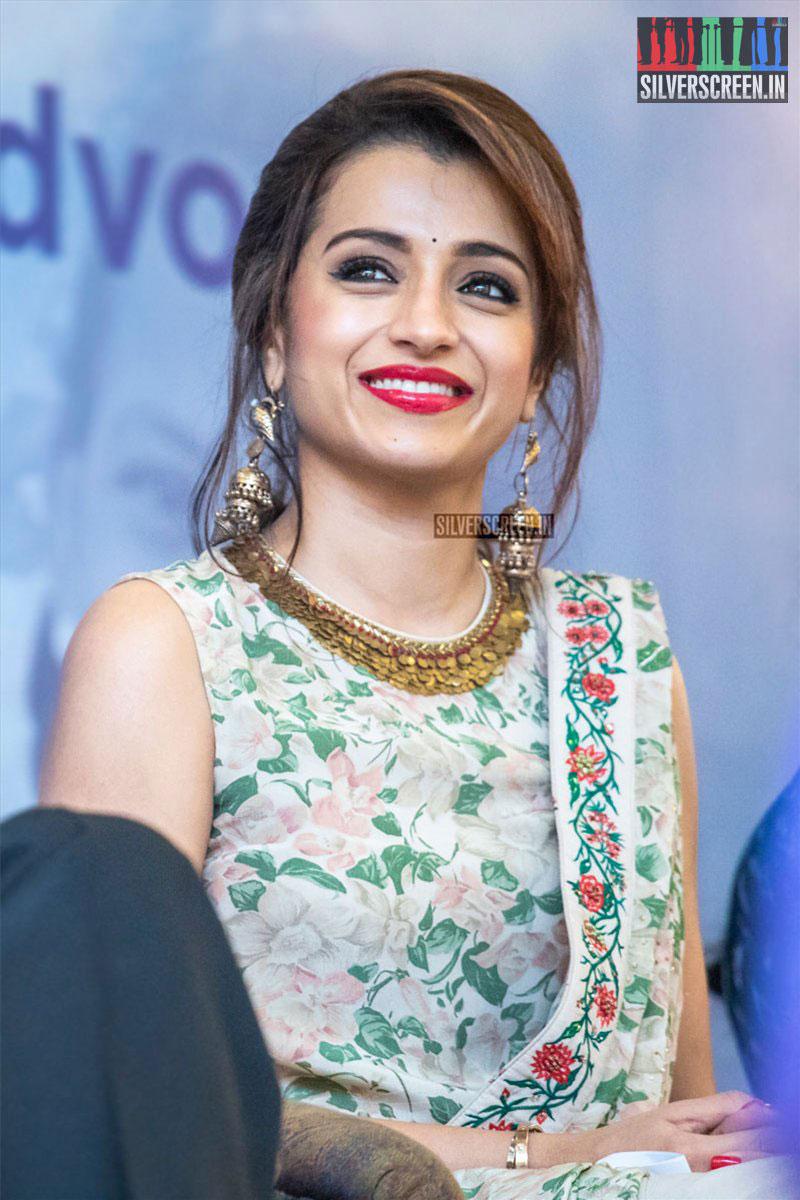 Trisha At The UNICEF Event