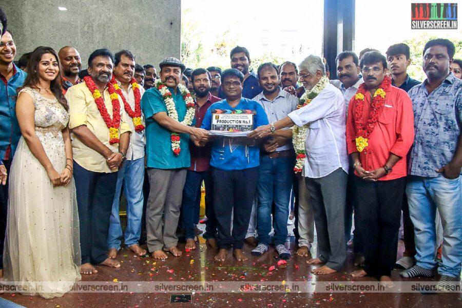 Thambi Ramaiah At The 'Nayae Peyae' Movie Movie Launch