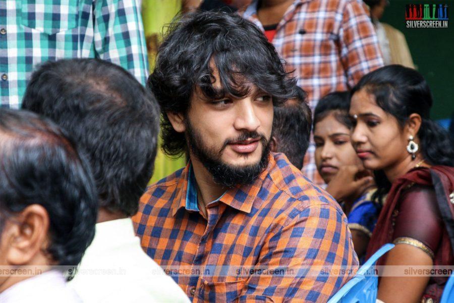 Gautham Karthik At The Cine Shield Creators-Production No 1 Movie Launch