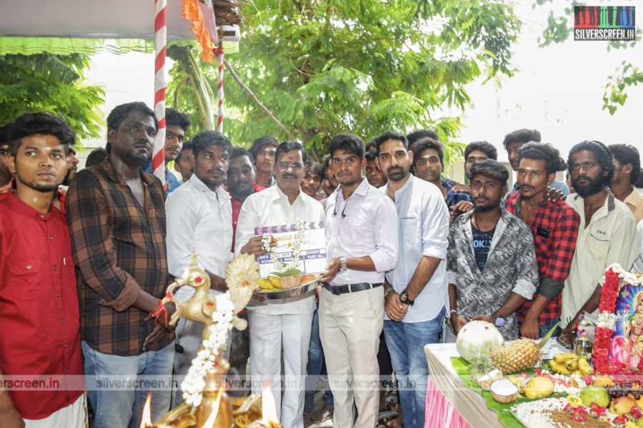 Kalaipuli S Thanu At The Cine Shield Creators-Production No 1 Movie Launch