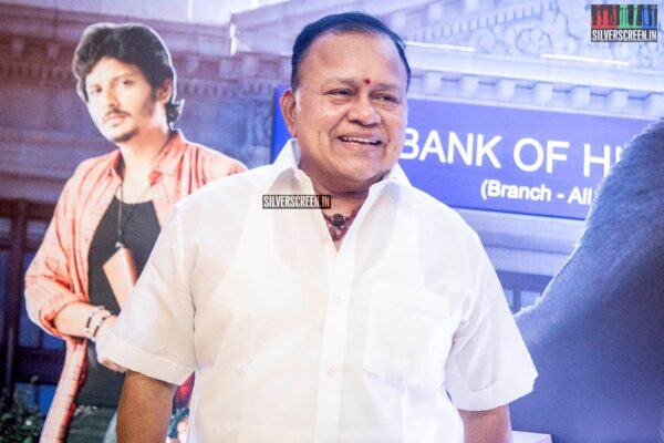 Radha Ravi At The 'Gorilla' Audio Launch