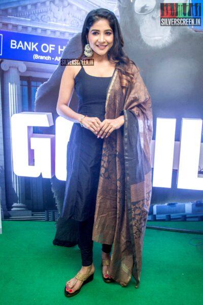 Sakshi Agarwal At The 'Gorilla' Audio Launch