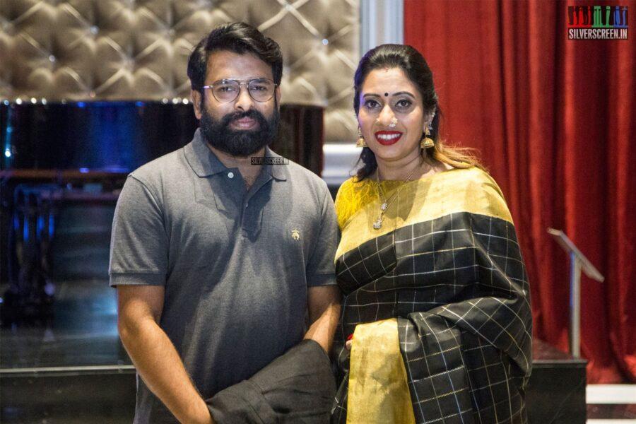 Santhosh Narayanan At The 'Oththa Serupu Size 7' Audio Launch