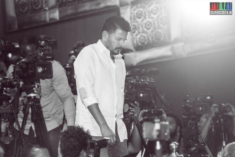 Shankar At The 'Oththa Serupu Size 7' Audio Launch