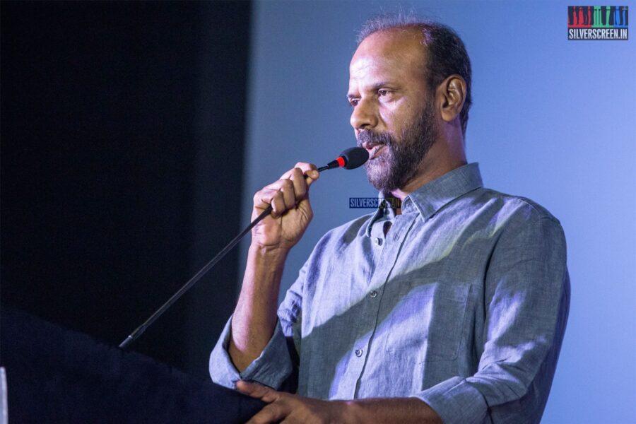 Celebrities At The 'Oththa Serupu Size 7' Audio Launch