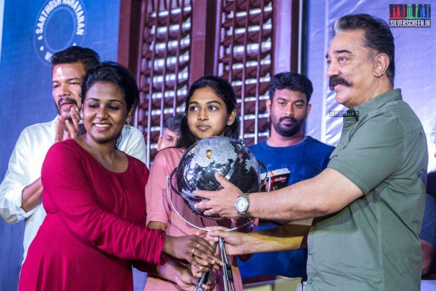Kamal Haasan At The 'Oththa Serupu Size 7' Audio Launch