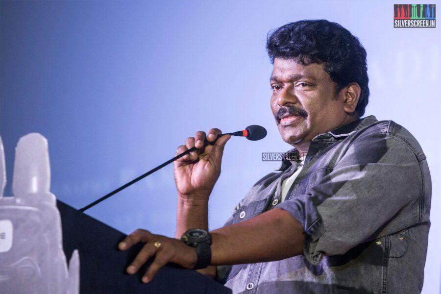 R Parthiban At The 'Oththa Serupu Size 7' Audio Launch
