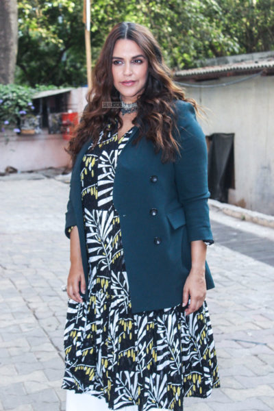Neha Dhupia On The Sets Of Vogue BFFs