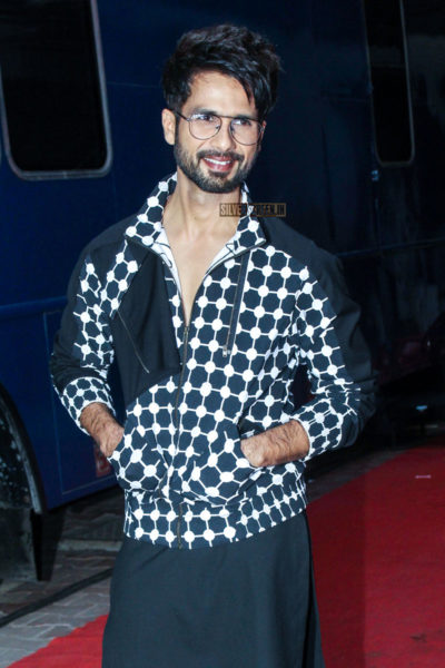 Shahid Kapoor On The Sets Of Vogue BFFs