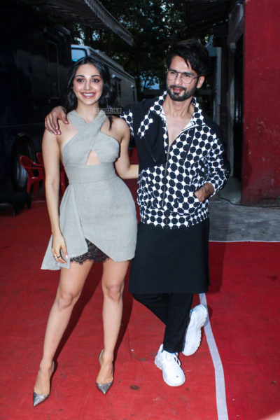 Kiara Advani, Shahid Kapoor On The Sets Of Vogue BFFs