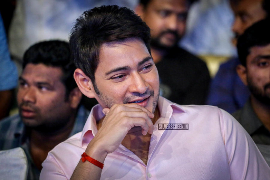 Mahesh Babu At The 'Maharshi' Pre Release Event