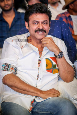 Venkatesh At The 'Maharshi' Pre Release Event