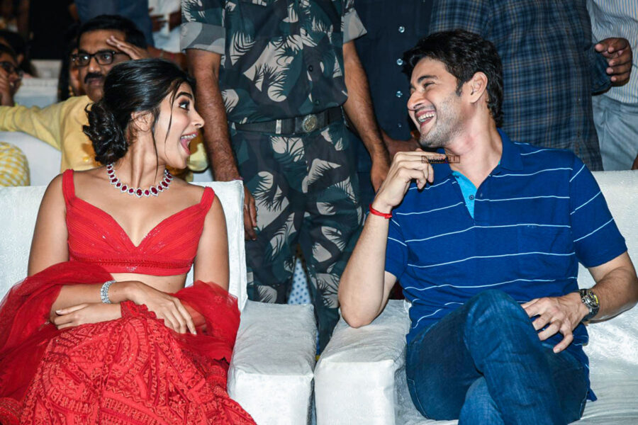 Mahesh Babu, Pooja Hegde At The 'Maharshi' Success Meet
