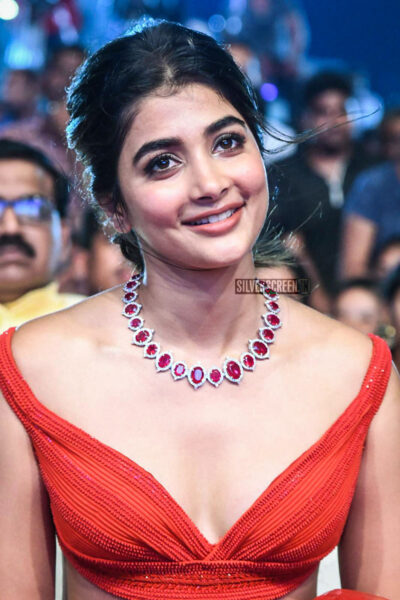 Pooja Hegde At The 'Maharshi' Success Meet
