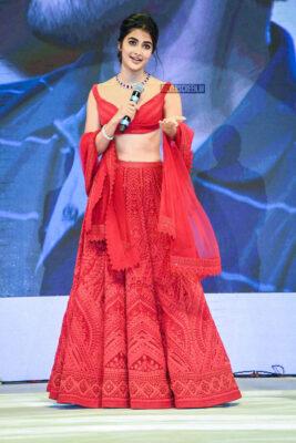 Pooja Hegde At The 'Maharshi' Success Meet