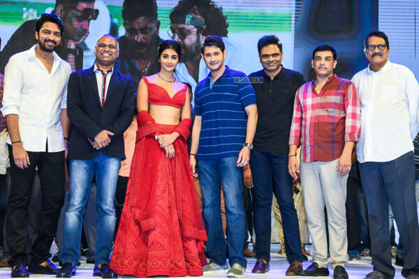 Mahesh Babu, Pooja Hegde At The 'Maharshi' Success Meet