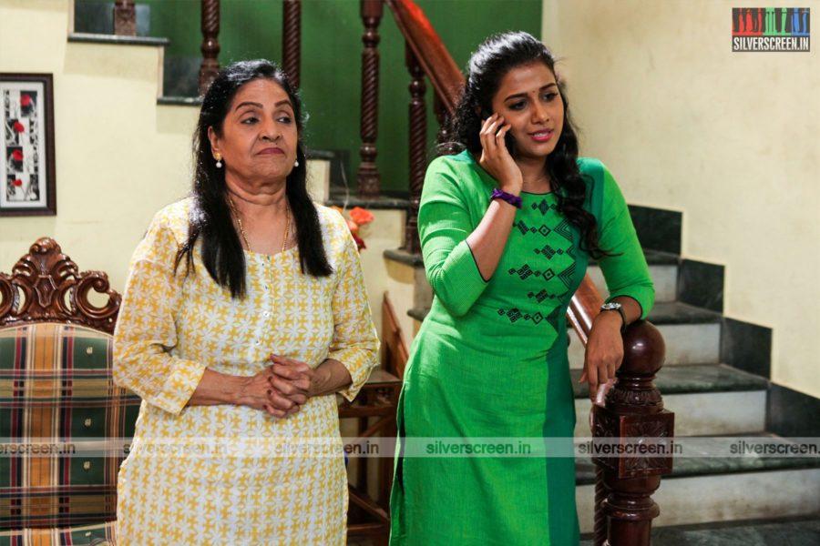 Perazhagi ISO Movie Stills Starring Shilpa Manjunath, Sachu