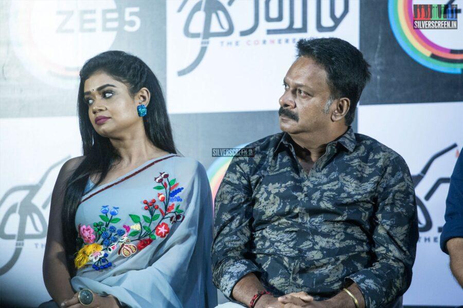 Swayam Siddha At The 'Thiravam' Press Meet
