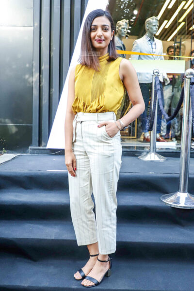 Radhika Apte At A Store Launch