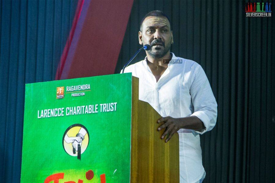Raghava Lawrence At The 'Thaai' Album Launch