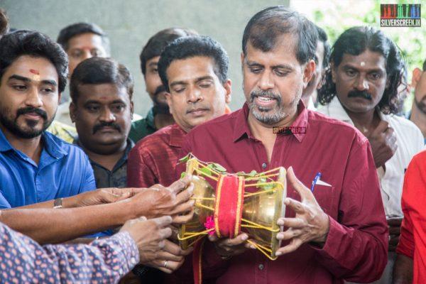 RK Selvamani At The 'Udukai' Movie Launch
