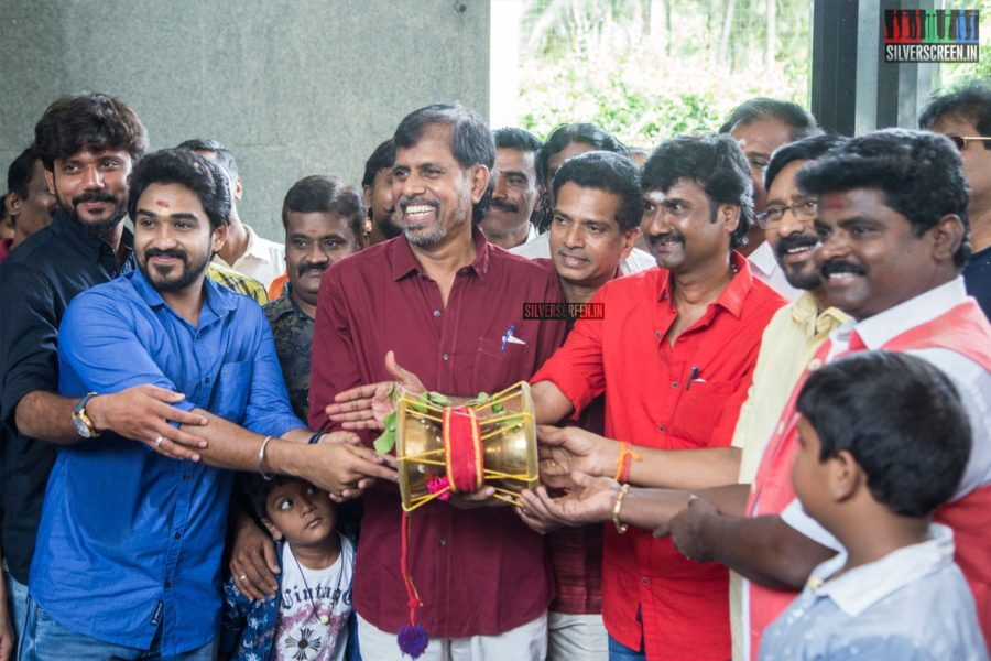 RK Selvamani At The 'Udukai' Movie Launch