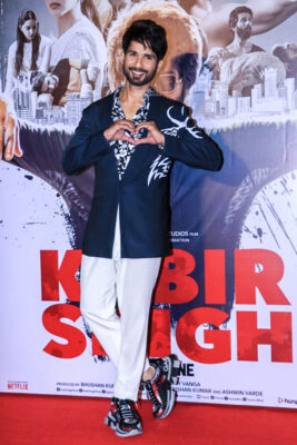 Shahid Kapoor At The 'Kabir Singh' Trailer Launch